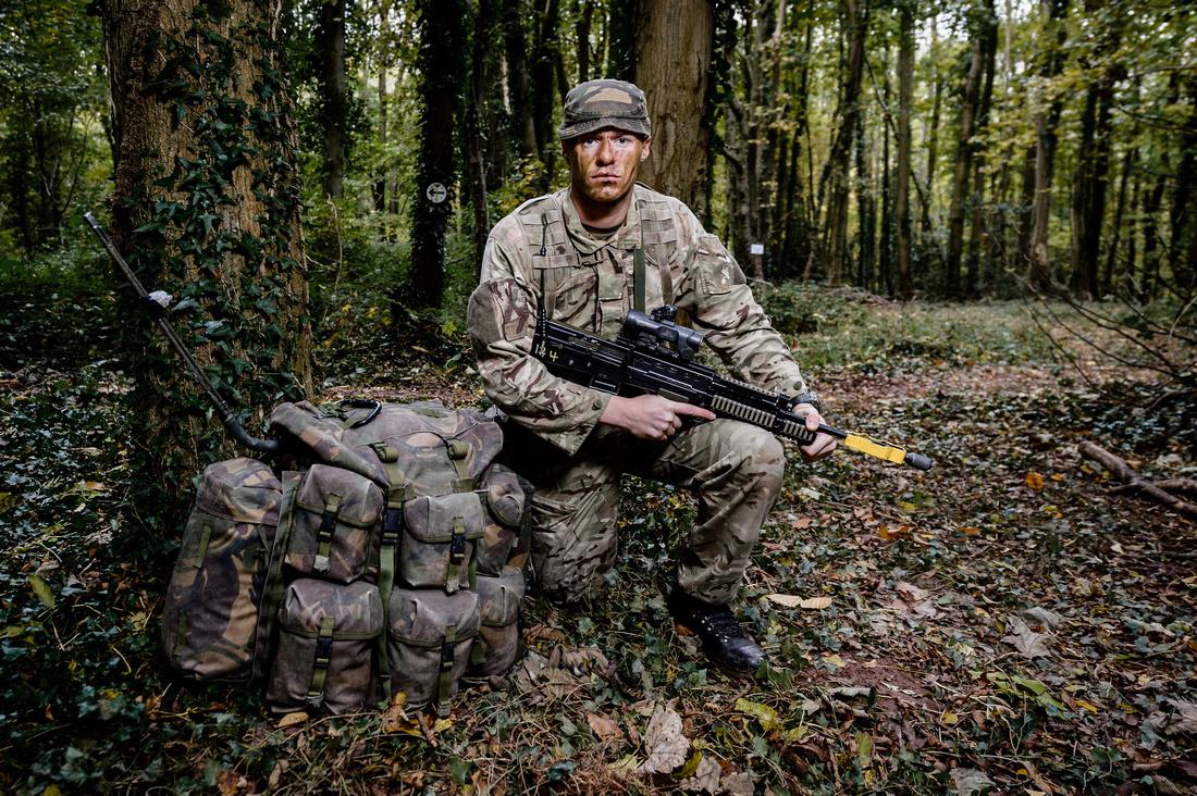 Soldier on Cambrian Patrol 2015 taken by Cpl Timothy Jones RLC JONESMRJONES