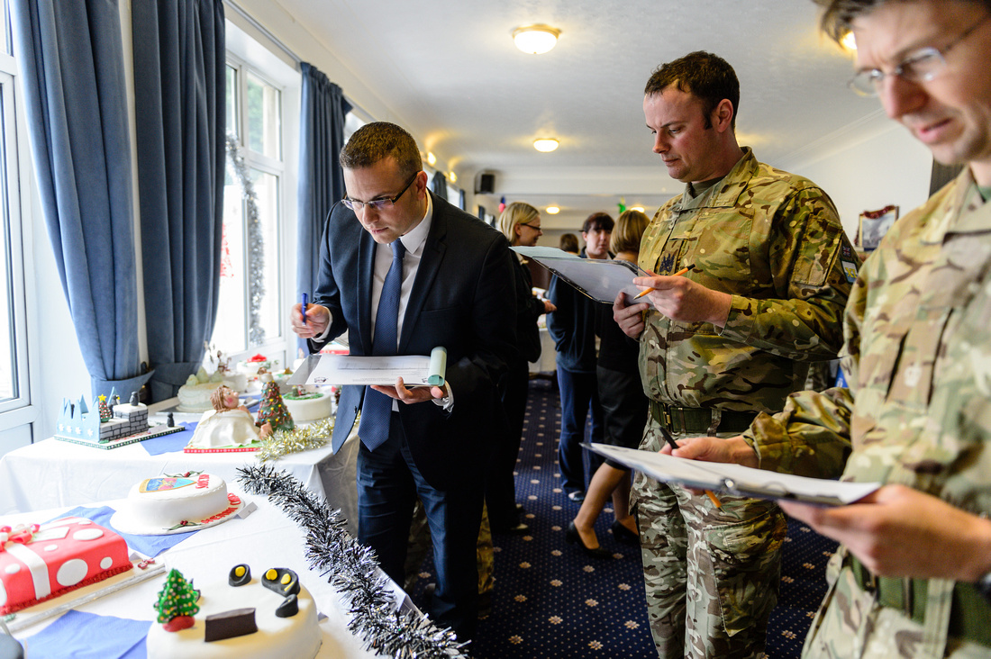 11th  Signal and West Midlands Brigade Christmas cake competition.