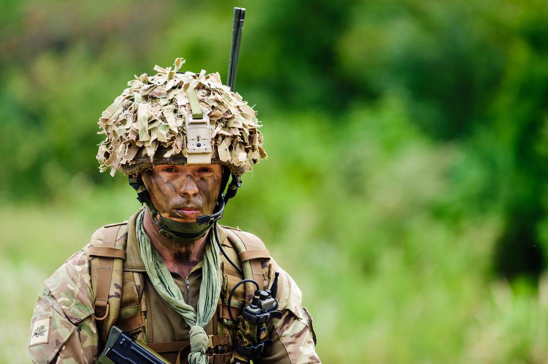 Image of Soldier from The duke of Lancashire regiment taken by jonesmrjones in croatia on ex sava star