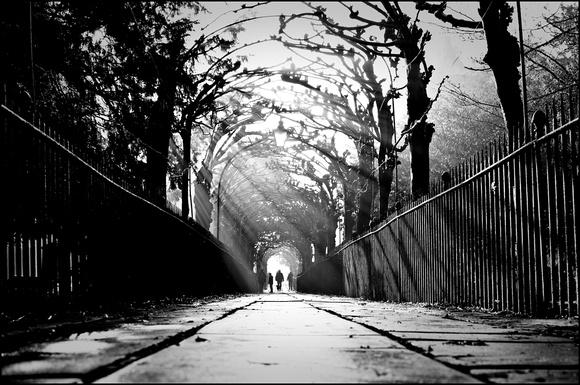 Birdcage walk bristol black and white