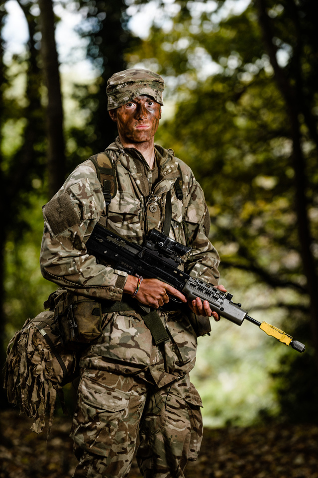 Soldier on Cambrian Patrol 2015 taken by Cpl Timothy Jones RLC JONESMRJONES
